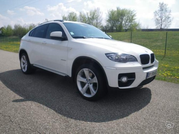 bmw x6 blanc parfaite tat l 39 occaz des autos. Black Bedroom Furniture Sets. Home Design Ideas
